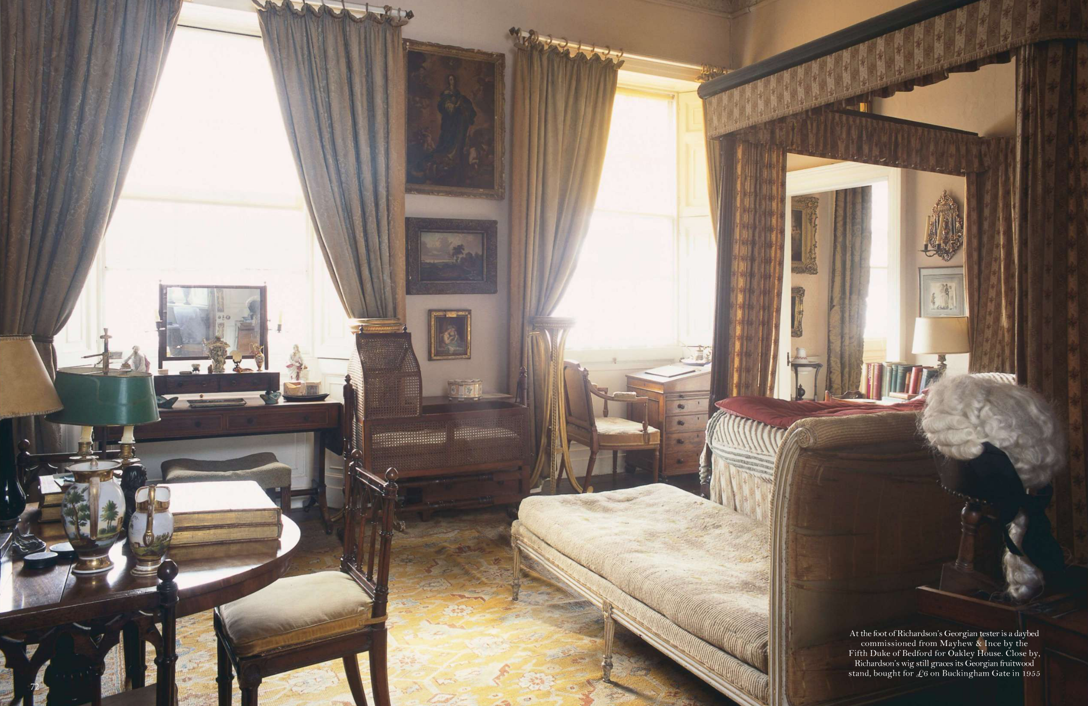 Sir albert richardson and the house that forgot time on for Interieur in english