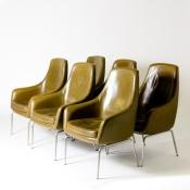 England circa 1930 set of 10 Gordon Russell chairs (BA6)
