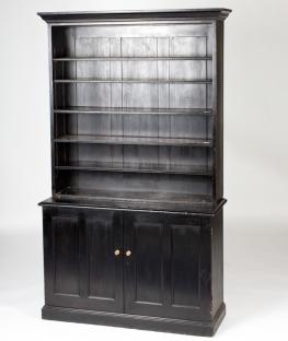England circa 1870 ebonized bookcase
