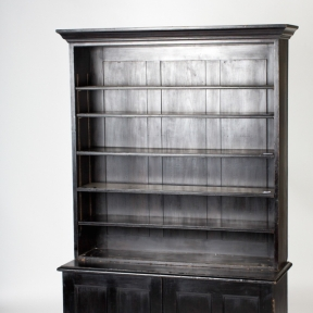 England circa 1870 ebonized bookcase