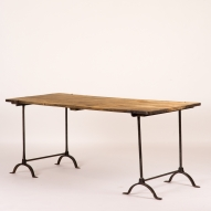 England circa 1920 Trestle Table
